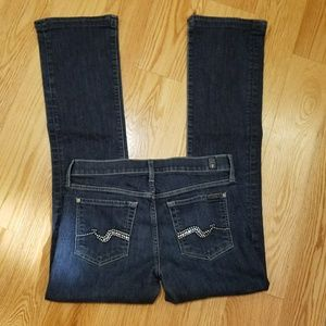 7 for all mankind boot CUT jeans 29